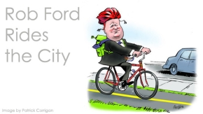 Rob Ford Rides the City: Challenging Toronto's Mayor to Cycle for a Day
